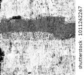 grunge texture black and white. ... | Shutterstock . vector #1011262267