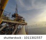 work over unit in songkhla sea | Shutterstock . vector #1011302557