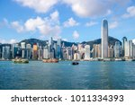 Hong Kong Skyline Victoria Harbor - Fine Art prints
