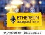 virtual money ethereum... | Shutterstock . vector #1011380113