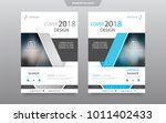 cover design template for... | Shutterstock .eps vector #1011402433