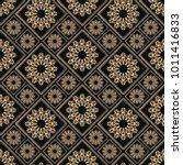islamic vector design. seamless ... | Shutterstock .eps vector #1011416833