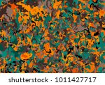 colorful spot background.... | Shutterstock .eps vector #1011427717