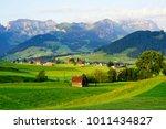 beautiful appenzell village in...   Shutterstock . vector #1011434827