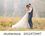 wedding day. the bride and... | Shutterstock . vector #1011472447