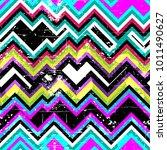 multicolor hand drawn pattern... | Shutterstock . vector #1011490627