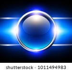 abstract background with blue... | Shutterstock .eps vector #1011494983