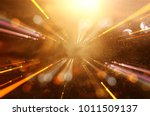 abstract lens flare. concept... | Shutterstock . vector #1011509137
