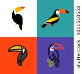 set of colorful icons or logo... | Shutterstock .eps vector #1011510553