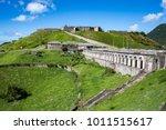 brimstone hill fortress...   Shutterstock . vector #1011515617