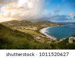frigate bay on saint kitts and... | Shutterstock . vector #1011520627