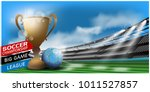 sports stadiums and football... | Shutterstock .eps vector #1011527857