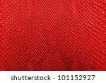 red python snake skin texture... | Shutterstock . vector #101152927
