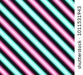 pattern neon line vector  | Shutterstock .eps vector #1011531943