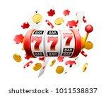 big win slots 777 casino... | Shutterstock .eps vector #1011538837