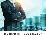finance and investment concept... | Shutterstock . vector #1011562627