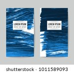 set of vector business card... | Shutterstock .eps vector #1011589093