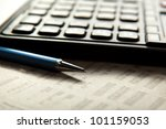 office still life | Shutterstock . vector #101159053