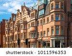 london  uk   25 august  2017 ... | Shutterstock . vector #1011596353