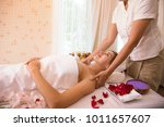 masseur which rejuvenating and... | Shutterstock . vector #1011657607