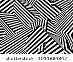 abstract black and white... | Shutterstock . vector #1011684847