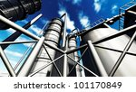 Refinery - stock photo