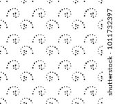 abstract black and white... | Shutterstock .eps vector #1011732397