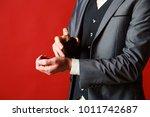 man perfume  fragrance.... | Shutterstock . vector #1011742687