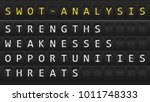 swot analysis table board   Shutterstock .eps vector #1011748333