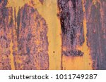 the flaking yellow color with... | Shutterstock . vector #1011749287