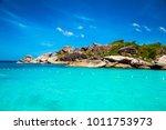 tropical beach at similan... | Shutterstock . vector #1011753973