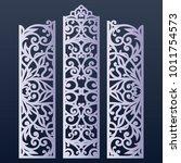 ornamental panels template for...   Shutterstock .eps vector #1011754573