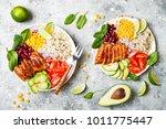 homemade mexican chicken... | Shutterstock . vector #1011775447
