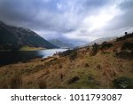 dramatic scenery of mountains... | Shutterstock . vector #1011793087