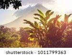 scenic arenal volcano in costa... | Shutterstock . vector #1011799363