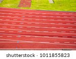 Small photo of All-weather running track for background use