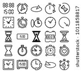 Minute Icons. Set Of 25...