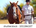 Image Of  Female Jockey With...