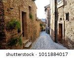 traditional italian medieval...   Shutterstock . vector #1011884017
