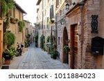 traditional italian medieval... | Shutterstock . vector #1011884023