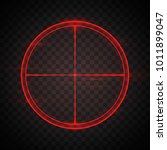 red shining target screen ...