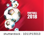 vector illustration football... | Shutterstock .eps vector #1011915013
