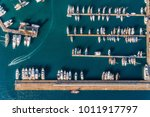 Aerial View Of Amazing Boats A...