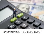 tax cuts or reduce concept ... | Shutterstock . vector #1011931693