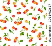 pattern of the cherry  i made a ... | Shutterstock .eps vector #1011962617