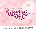 march 8  international women's... | Shutterstock .eps vector #1011963073