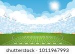 american football arena field... | Shutterstock .eps vector #1011967993