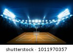 basketball arena field with... | Shutterstock .eps vector #1011970357
