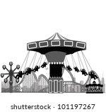 vector illustration.roller... | Shutterstock .eps vector #101197267