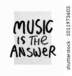 music is the answer abstract... | Shutterstock .eps vector #1011973603
